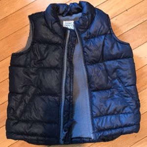 Old Navy toddler boys puffer vest 18-24M